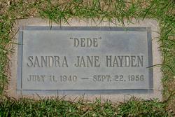 """Sandra Jane """"Dede"""" Hayden"""