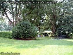 Oak Alley Plantation Cemetery
