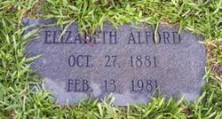 Elizabeth Ruth <I>Williston</I> Alford