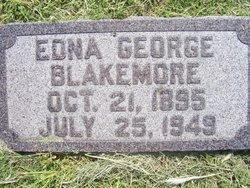 Edna <I>George</I> Blakemore