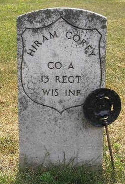 Pvt Hiram C. Corey