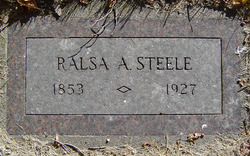 Ralsa Alger Steele