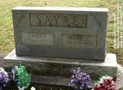 Mary Catherine <I>Barr</I> Sayre
