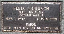 Felix F Church