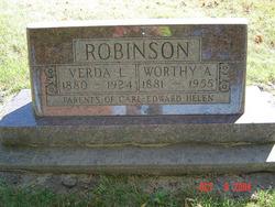 Verda Leona <I>Hill</I> Robinson