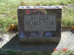 Hulda J. <I>Beddow</I> Robinson