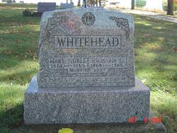 Mary Jane <I>Noble</I> Whitehead
