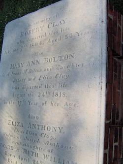 Mary Ann <I>Clay</I> Bolton