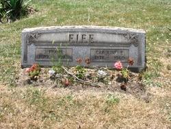 "Caroline Eliza ""Carrie"" <I>Patterson</I> Fife"