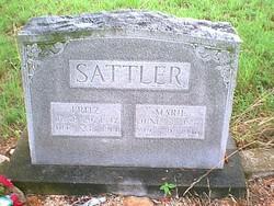 Marie <I>Soechting</I> Sattler