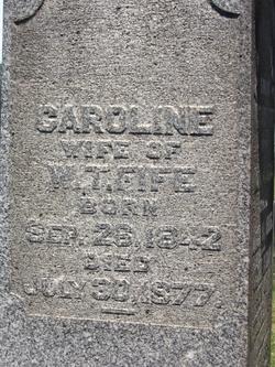 Caroline McCormick <I>Fife</I> Fife