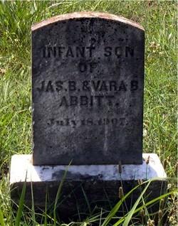 Infant Son Abbitt