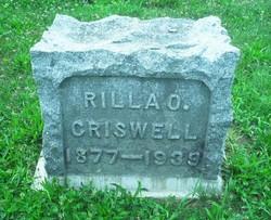 Rilla O. Criswell