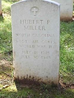 Sgt Hubert P Miller