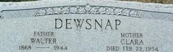 Walter Dewsnap