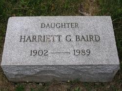 Harriett Gillespie Baird