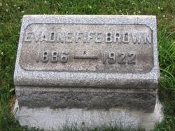 Sarah Evadne <I>Fife</I> Brown