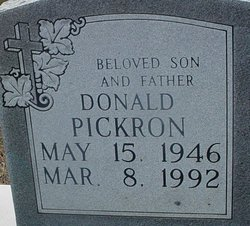 Donald Pickron