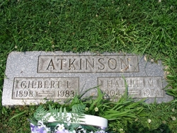 Hallie May <I>Young</I> Atkinson