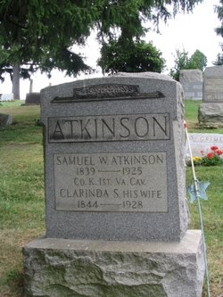 Clarinda L. <I>Snedeker</I> Atkinson
