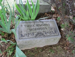 Emma J. <I>Kimmins</I> Morrison