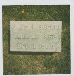 Jane Hibben <I>Hoel</I> Bufkin