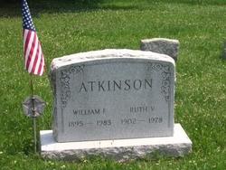 Ruth Virgina <I>Curtis</I> Atkinson