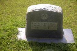 Rev Robert Clyde Barham, III