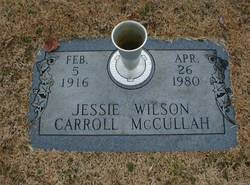 Jessie <I>Wilson</I> McCullah