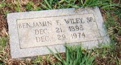 Benjamin Franklin Wiley, Sr
