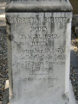 Harriet Mary Walton <I>Rogers</I> Burnett