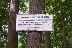 Fairfield Burying Ground