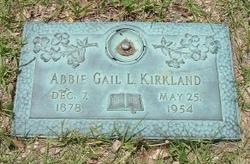 Abigail Luviney <I>Tedder</I> Kirkland