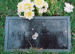 Infant Son Beckham