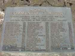 Homer Community Cemetery