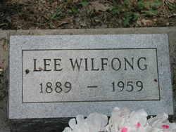 """Chauncey Leroy """"Lee"""" Wilfong"""