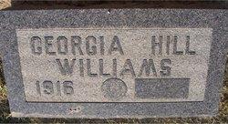 Georgia Ruth <I>Headrick</I> Williams