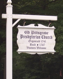Old Pittsgrove Presbyterian Church Cemetery