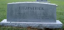 Frank Minnock Fitzpatrick, Sr