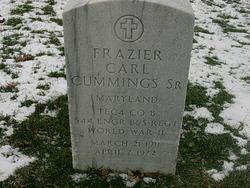 Frazier Carl Cummings, Sr