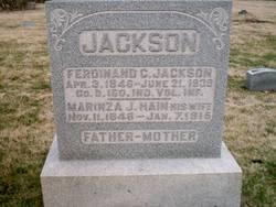 Marinza Jane <I>Hain</I> Jackson
