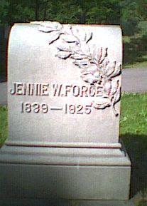 Jennie <I>Wright</I> Force
