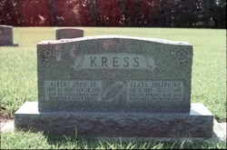 Clara Josephine <I>King</I> Kress