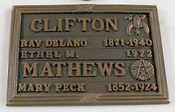 Ray DeLano Clifton