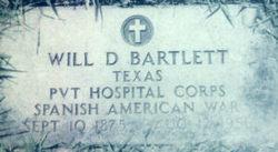 Pvt William D Bartlett