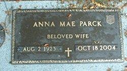 Anna Mae <I>Arnett</I> Parck