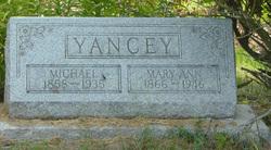 Mary Ann <I>Basch</I> Yancey