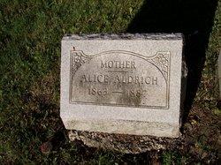 Alice <I>Reichard</I> Aldrich