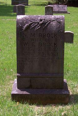 Nancy Melvina <I>Taylor</I> Brock