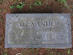 Laura Virginia <I>Anderson</I> Alexander